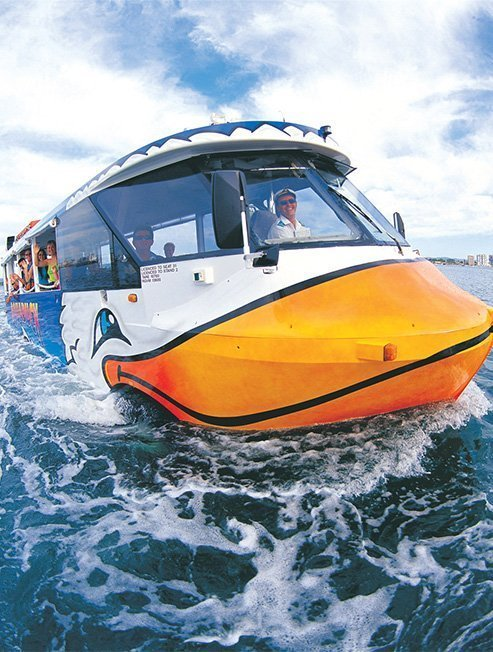 Gold Coast River Cruise & City Tour