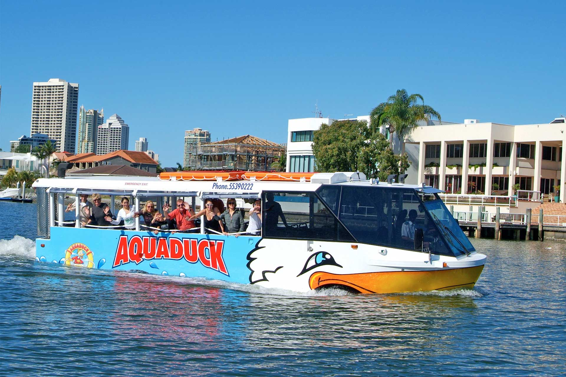 Duck Tour Cruising on the Gold Coast