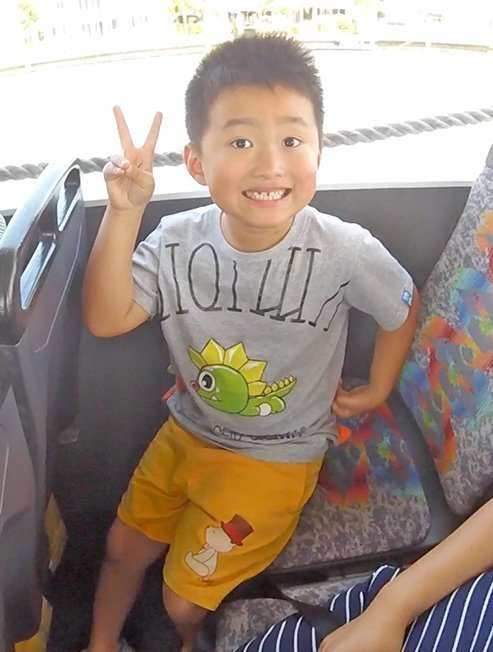 Boy Having Fun On Gold Coast City Tour