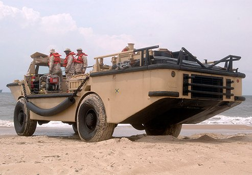 Military Amphibious Vehicle