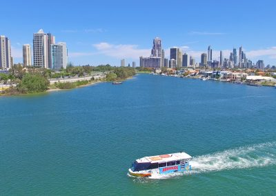 Aquaduck on the Water Gold Coast City Tour