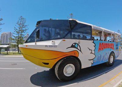 Duck Bus Driving in Main Beach