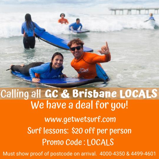 Get Wet locals special
