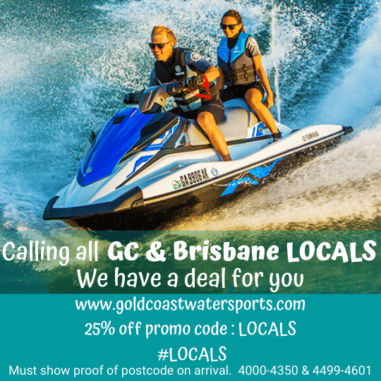 Gold Coast Watersports Locals discount