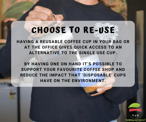 choose to re-use coffee cups FB