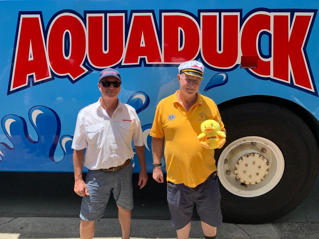 Lions Club Member on Aquaduck
