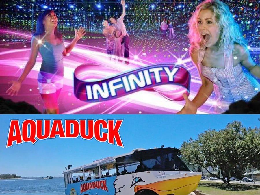 Infinity Aquaduck Combo Ticket