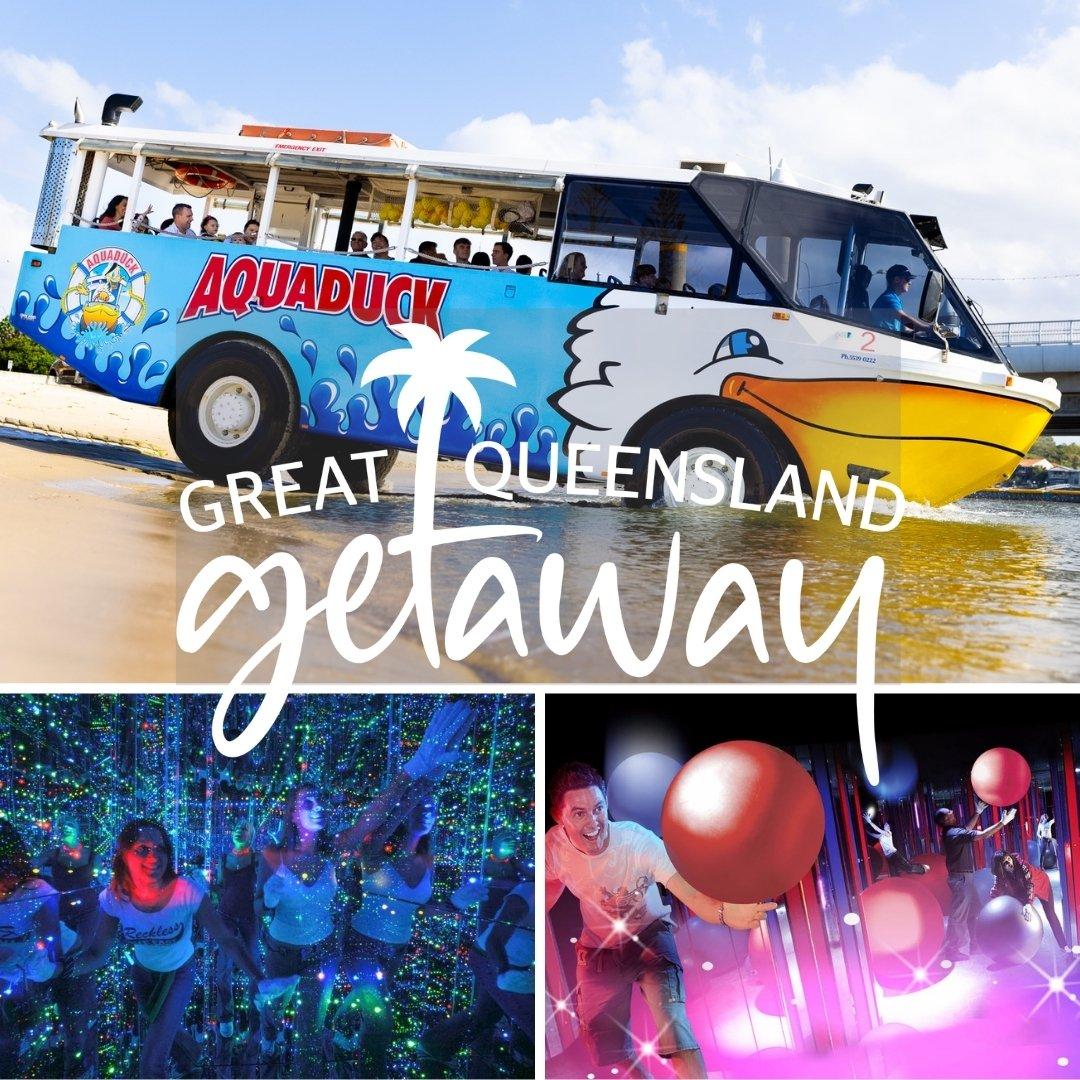 Great Qld Getaway Aquaduck & Infinity