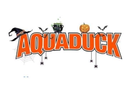 Aquaduck Halloween Logo
